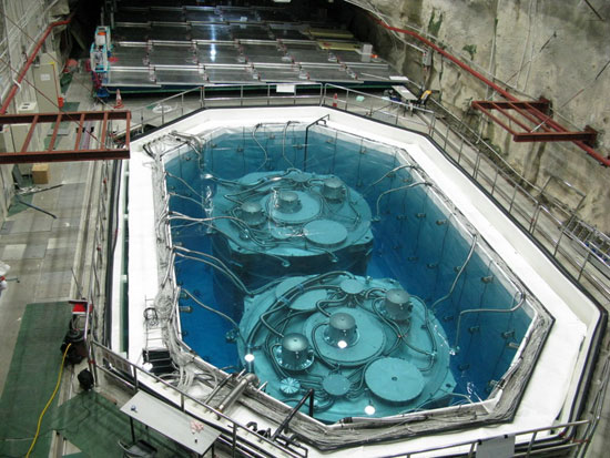 Picture of Daya Bay anti-neutrino detector