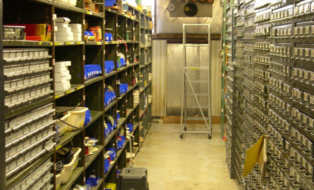 Physical Sciences Lab 187 Stockroom